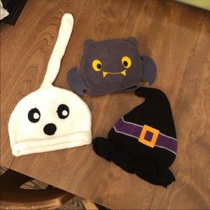 Set of 3 halloween hats